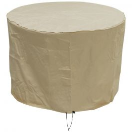 Oxbridge Small Round Patio Set Waterproof Cover Sand