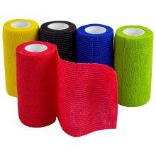 Woodside Self Adhesive Cohesive Bandage, First Aid Gauze Vet Wrap (pack of 5)