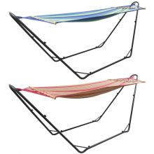 Woodside Garden Hammock With Steel Stand