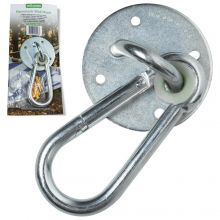 Woodside Outdoor Hammock Swing Hook and Screws Wall Set