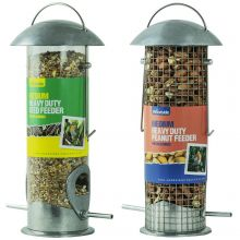 Woodside Medium Heavy Duty Peanut & Seed Bird Feeder