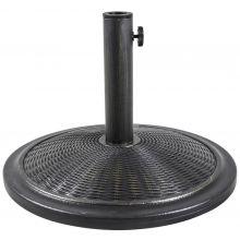 Woodside Brass 13kg Garden Patio Cantilever Parasol Umbrella Base Weight Stand