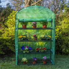 Woodside 4 Tier Growhouse Greenhouse