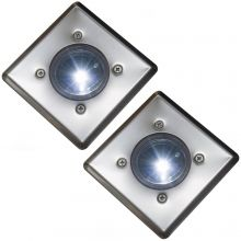 Oxbridge Deck Lights - WHITE x 2