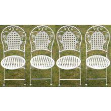 Maribelle Round Garden Chairs x 4