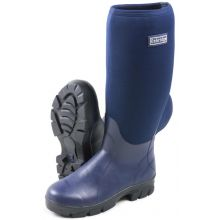Oxbridge Navy Neoprene Wellington Welly Boots