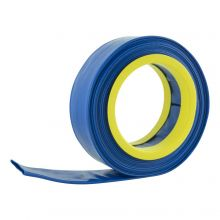 Woodside 10m x 52mm Blue PVC Layflat Hose Pipe Water Delivery Discharge Lay Flat 4 BAR