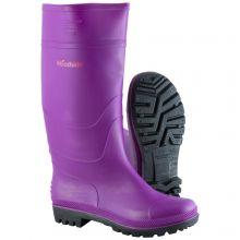 Woodside Waterproof Wellington Boots PURPLE