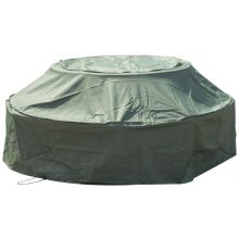 Woodside 8 Seater Round Picnic Table Waterproof Cover GREEN
