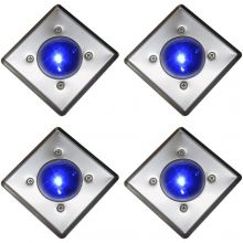 Oxbridge Deck Lights - BLUE x 4