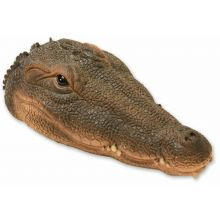 Woodside Floating Crocodile Head Pond Ornament