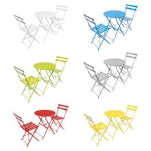 Woodside Foldable Bistro Table & Chair Set