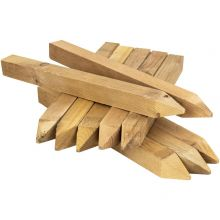 """Woodside 12"""" (300mm) Square Wooden Fencing Stakes (pack of 20)"""