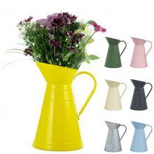 Woodside 5L/9 Pint Decorative Garden Watering Jug/Can Vintage Flower Vase Pot