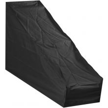 Woodside Large Protective Lawn Mower Waterproof Cover BLACK