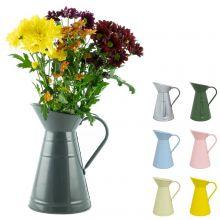 Woodside 3L/5 Pint Decorative Garden Watering Jug/Can Vintage/Rustic Flower Vase Pot Planter
