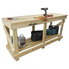 Woodside 1.8M Wooden Work Bench