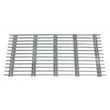Woodside Large Rectangle Heavy Duty Galvanised Steel Garden Door Mat