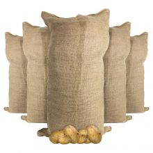 Woodside Garden Jute Bags for Potatoes, Vegetables, Plants etc