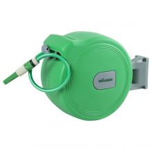 Woodside 30m Auto Rewind Retractable Hose Reel
