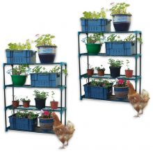 Woodside Greenhouse Shelving 2 Pack