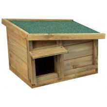 Woodside Hedgehog House & Hibernation Shelter, Predator Proof Outdoor Habitat Box