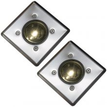 Oxbridge Deck Lights - WARM WHITE x 2