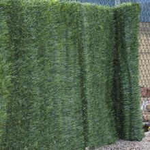 Woodside Artificial Conifer Garden Fence/Wall Privacy Screening Hedge