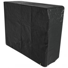 Oxbridge Large Barbecue Cover 120g/M2 PE BLACK
