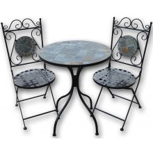 Woodside Mosaic Garden Table And Chair Set