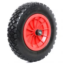 "Woodside 14"" Solid Tyre, Replacement Wheelbarrow Wheel"