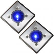 Oxbridge Deck Lights - BLUE x 2
