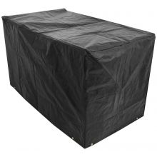 Oxbridge XL Barbecue Cover 120g/M2 PE BLACK