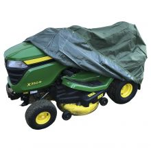 Woodside Green Outdoor Ride On Lawn Mower Waterproof Protective Cover