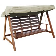 Woodside Cream 2 & 3 Seater Garden Swing Chair Replacement Canopy Spare Cover