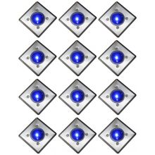 Oxbridge Deck Lights - BLUE x 12