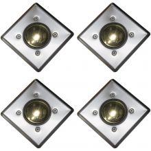 Oxbridge Deck Lights - WARM WHITE x 4