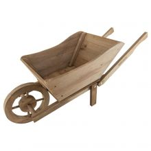 Woodside Wooden Wheel Barrow Planter