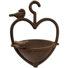 Woodside Garden Hanging Heart Shape Bird Feeder