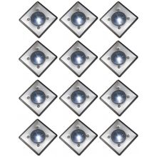 Oxbridge Deck Lights - WHITE x 12