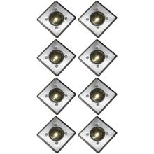 Oxbridge Deck Lights - WARM WHITE x 8
