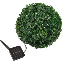 Woodside Pack of 2 Solar Powered LED Topiary Balls