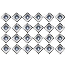 Oxbridge Deck Lights - WHITE x 24