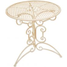 Woodside Small Round Metal Garden Table