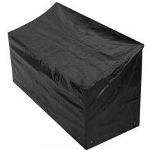 Woodside 4 Seater 1.8M Bench Waterproof Cover BLACK