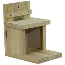 Woodside Garden Squirrel Feeder House Box with Feeding Platform & Lift Up Lid