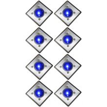 Oxbridge Deck Lights - BLUE x 8