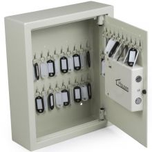 Hausen Wall Mounted Key Cabinet Safe – 48 KEY