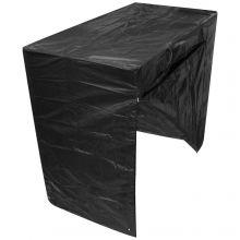 Woodside Black 3 Seater Outdoor Garden Swinging Hammock Cover 2.17m x 0.6m/1.25m x 1.7m