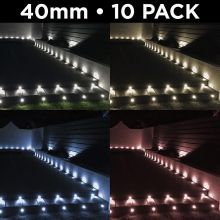 Woodside Set of 10 40mm LED Deck Lights
